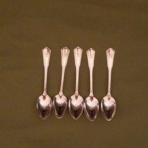 Oneida Community Reliance Plate Teaspoon set